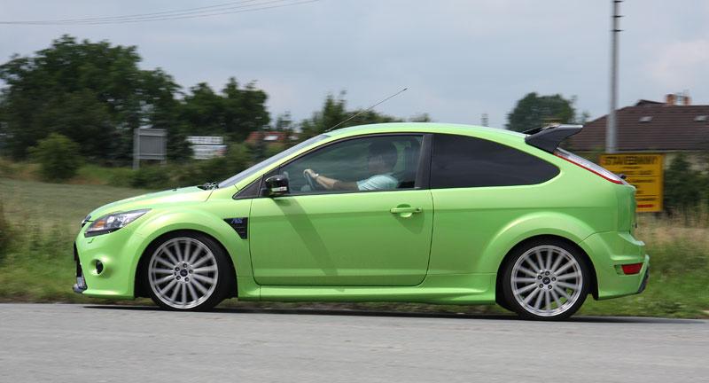 Ford Focus RS – namydlenej blesk: - fotka 36
