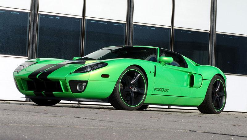Ford GT Geiger HP790: zelená střela z Německa: - fotka 2