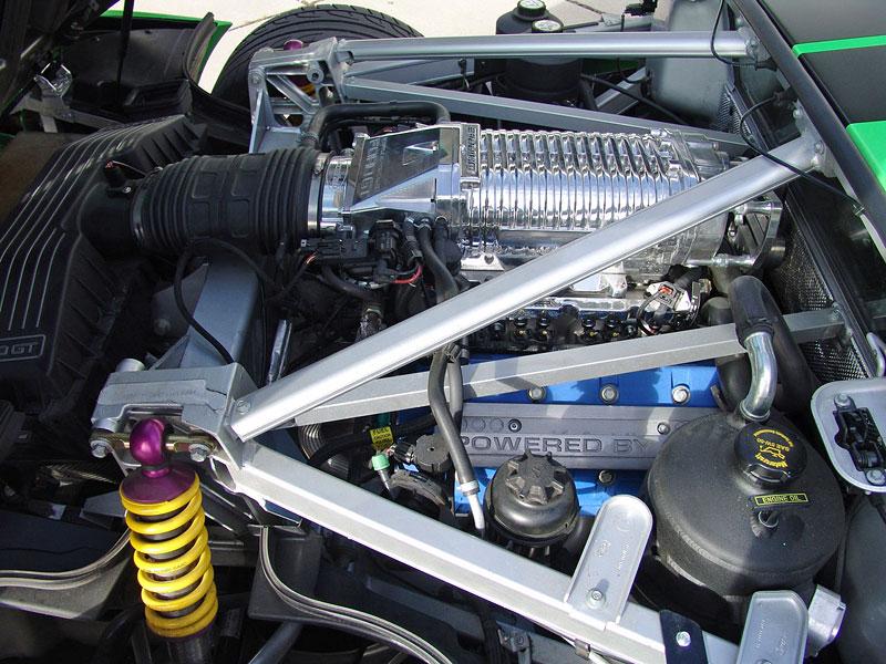 Ford GT Geiger HP790: zelená střela z Německa: - fotka 5