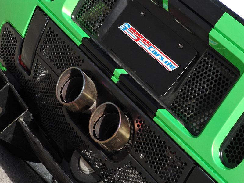 Ford GT Geiger HP790: zelená střela z Německa: - fotka 6
