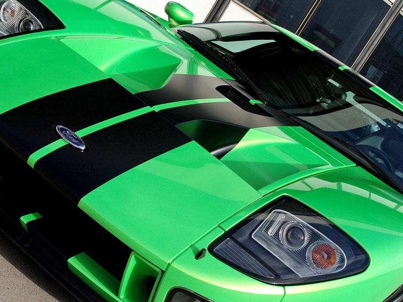Ford GT Geiger HP790: zelená střela z Německa: - fotka 7