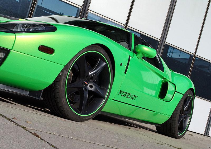 Ford GT Geiger HP790: zelená střela z Německa: - fotka 8