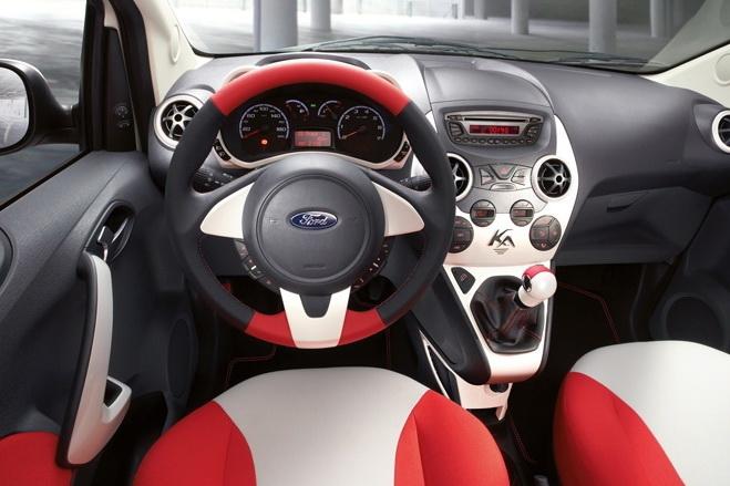 Ford Ka Grand Prix: další samolepkový sportovec: - fotka 1