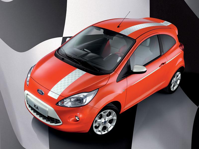 Ford Ka Grand Prix: další samolepkový sportovec: - fotka 5