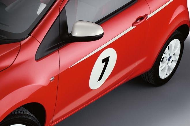 Ford Ka Grand Prix: další samolepkový sportovec: - fotka 7