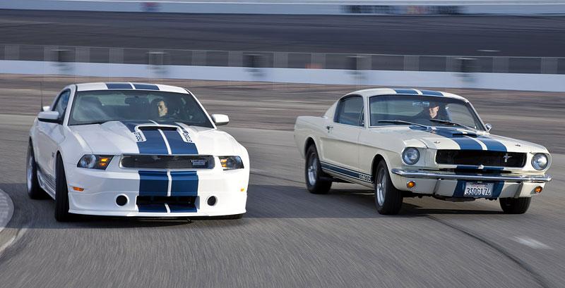 Shelby 350GT Mustang: finální specifikace pro rok 2011: - fotka 6