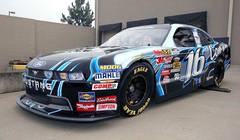 Ford Mustang: speciály pro NASCAR Nationwide Series odhaleny: - fotka 1