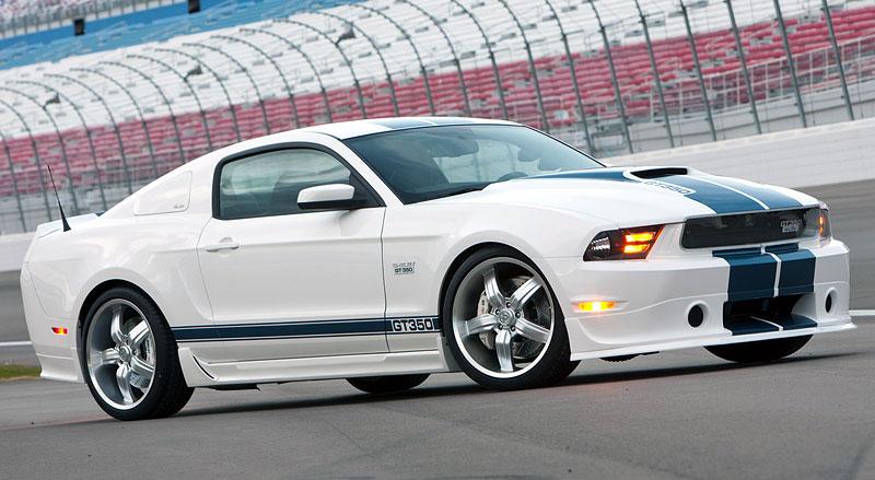 Shelby 350GT Mustang: finální specifikace pro rok 2011: - fotka 8