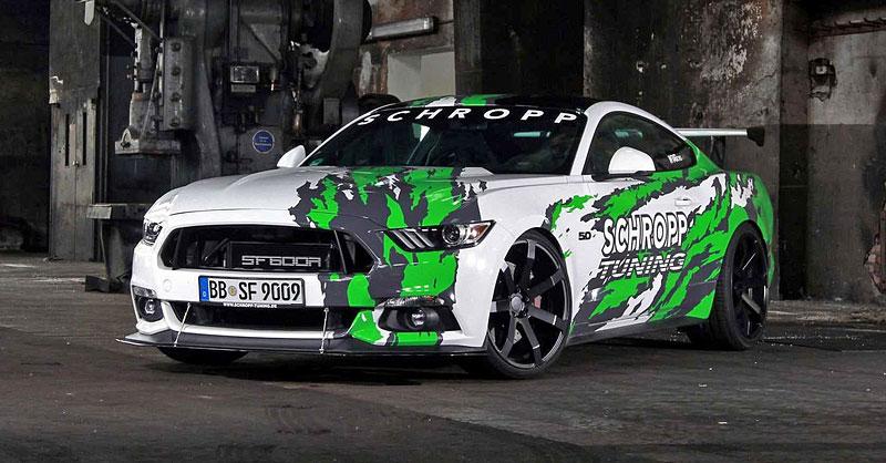 Schropp Tuning SF600R je pořádně ostrý Ford Mustang: - fotka 5