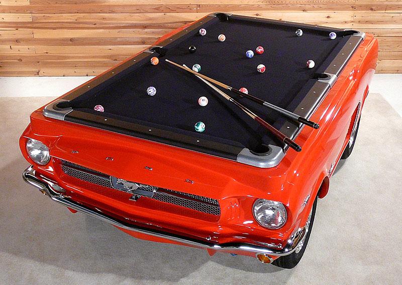 Mustang Pool Table: kulečníkový stůl pro fanoušky Fordu: - fotka 2