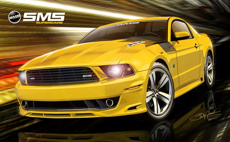 SMS 460 Mustang: Steve Saleen má stále co nabídnout (nové foto): - fotka 13