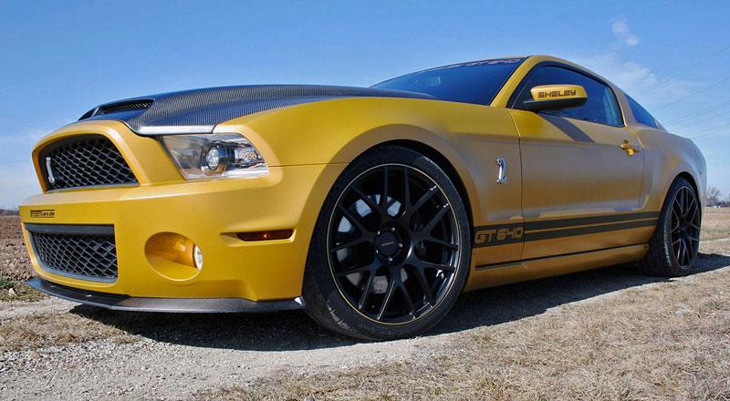 Ford Mustang Shelby GT640 Golden Snake: Geiger Cars znovu zasahuje: - fotka 4
