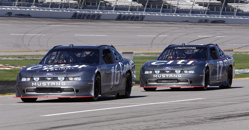 Ford Mustang: speciály pro NASCAR Nationwide Series odhaleny: - fotka 4