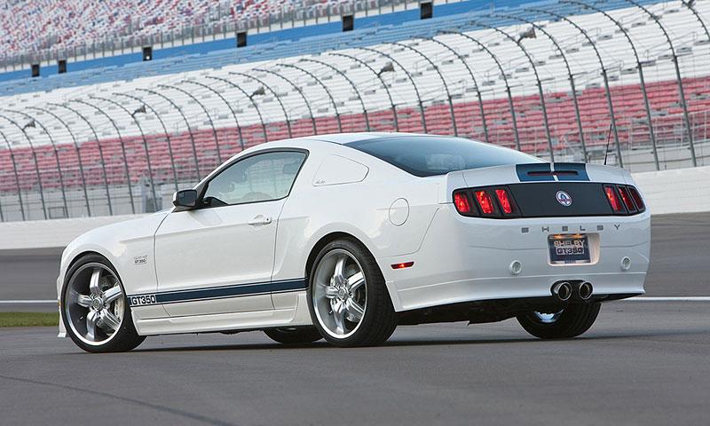 Shelby 350GT Mustang: finální specifikace pro rok 2011: - fotka 17