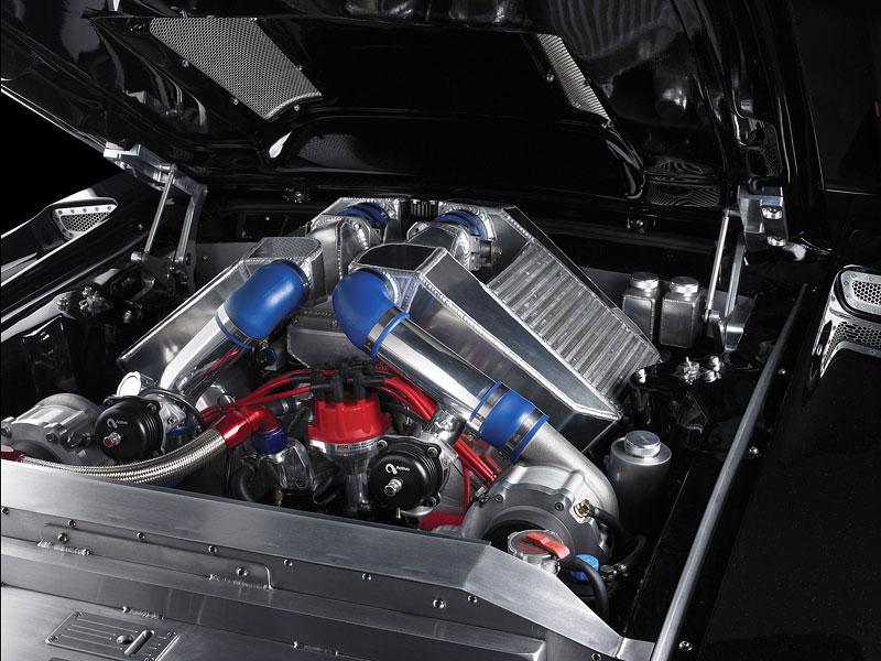 Obsidian SG-One Mustang: temný přízrak: - fotka 5