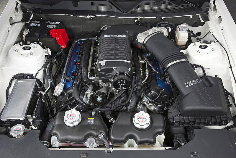 Shelby 350GT Mustang: finální specifikace pro rok 2011: - fotka 20