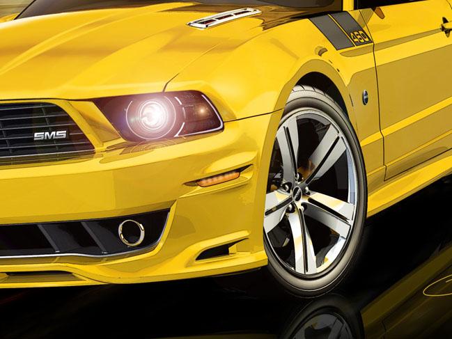 SMS 460 Mustang: Steve Saleen má stále co nabídnout (nové foto): - fotka 26