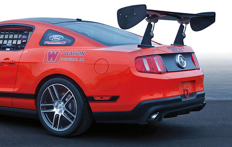 Mustang Boss 302S: závodní plnokrevník: - fotka 4