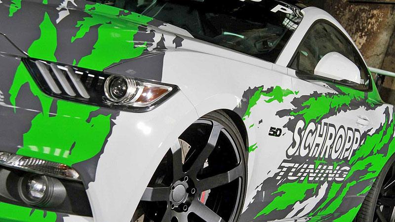 Schropp Tuning SF600R je pořádně ostrý Ford Mustang: - fotka 15