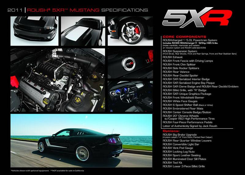 Roush Mustang 5XR: úprava pro posílené kupé: - fotka 6