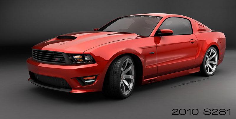 Saleen S281 Mustang: 485 koní pro modelový rok 2010: - fotka 13
