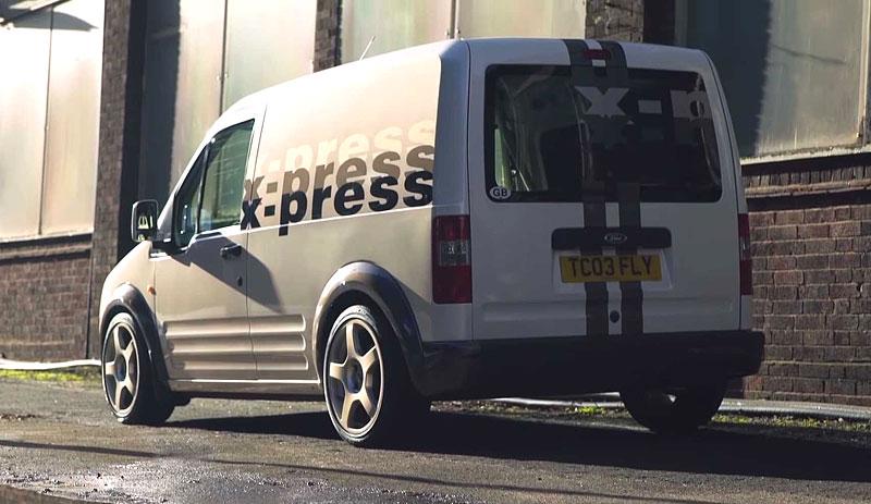 Víte, že existuje Fordy Transit Connect s technikou rychlých Focusů? Na sériovou výrobu to ale nevypadá: - fotka 3