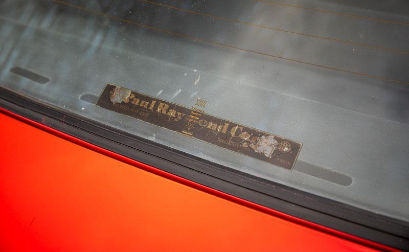 Na prodej je úžasný Ford Escort RS2000 X-Pack z roku 1977. Za 30 let nezměnil majitele: - fotka 14