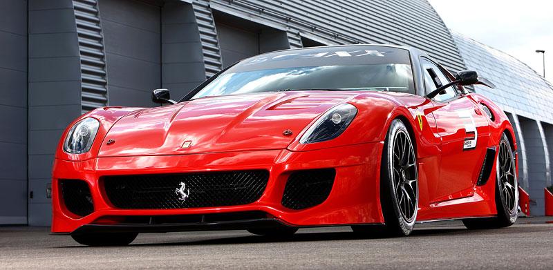 Ferrari 599XX: Massa za volantem (+video): - fotka 44