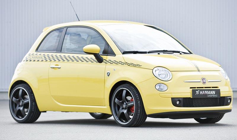 Fiat 500 od Hamann Motorsports: - fotka 3
