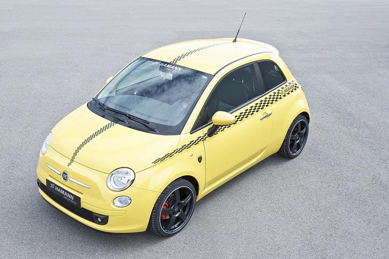 Fiat 500 od Hamann Motorsports: - fotka 4