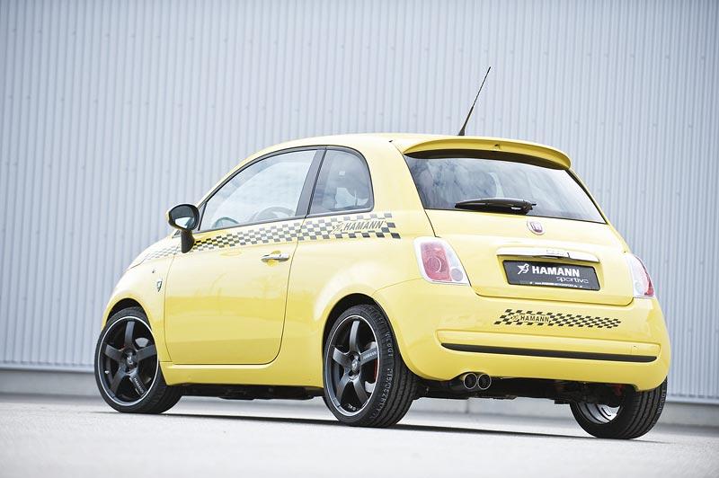 Fiat 500 od Hamann Motorsports: - fotka 12