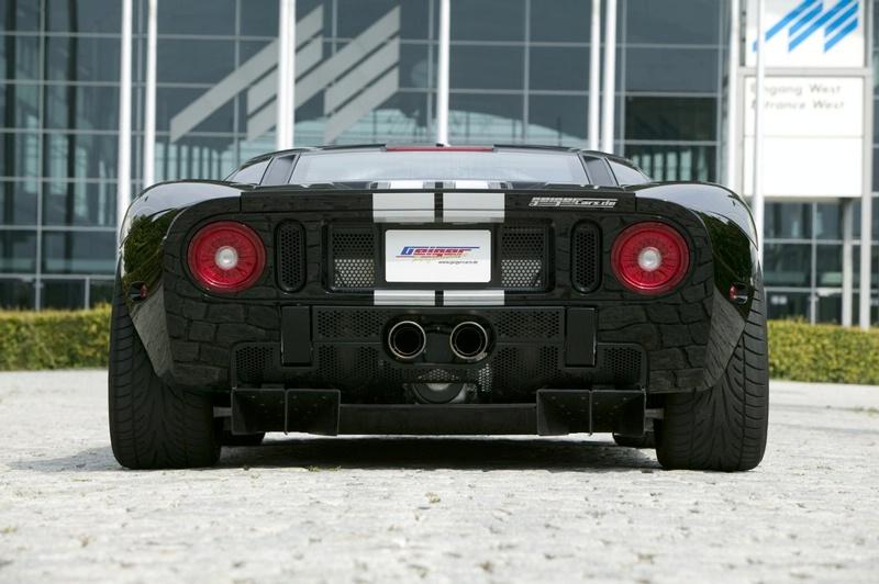 GeigerCars Ford GT: americké svaly a německé čáry: - fotka 9