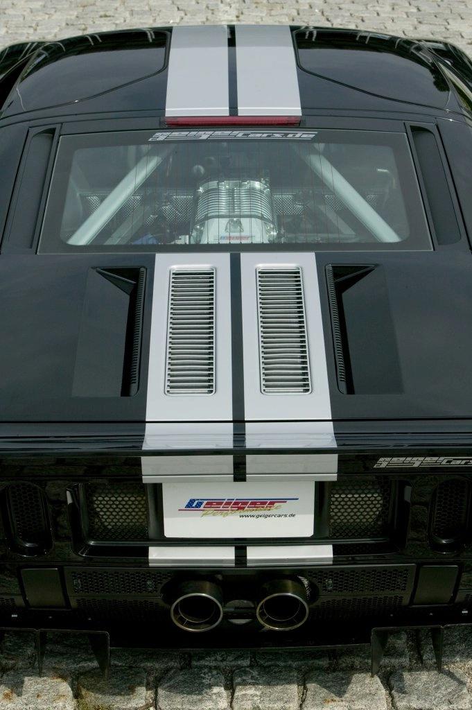 GeigerCars Ford GT: americké svaly a německé čáry: - fotka 13