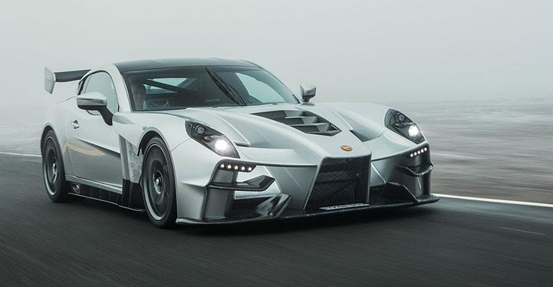 Firma Ginetta představila superauto. Má závodní techniku a bude hodně drahé: - fotka 7