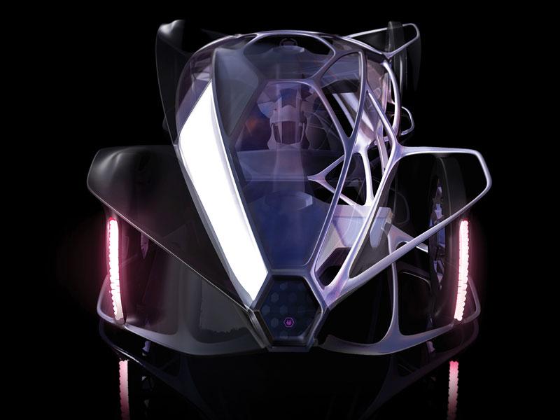 L.A. Design Challenge: 1000 lb car: - fotka 1