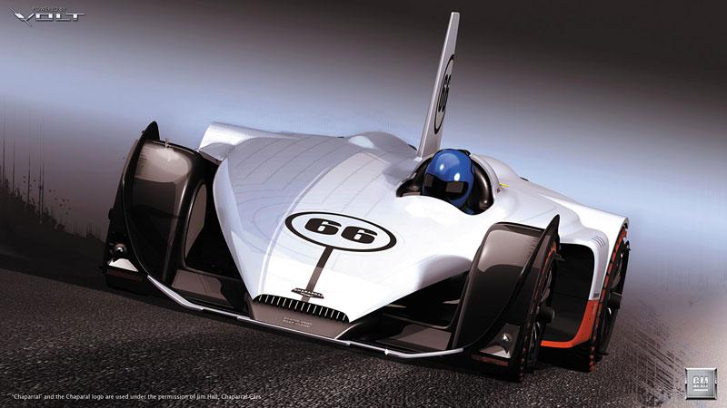 L.A. Design Challenge: GM Chaparral Volt: - fotka 2