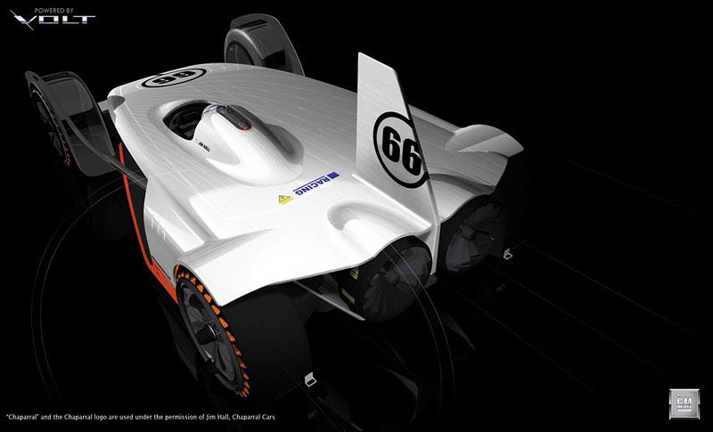 L.A. Design Challenge: GM Chaparral Volt: - fotka 5
