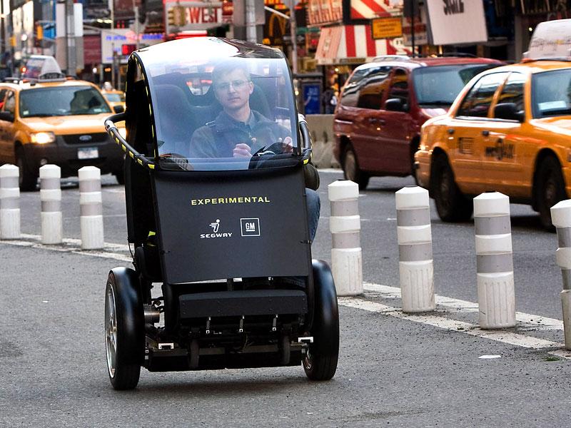 Segway Project P.U.M.A. - vozítko s dvěma koly na jedné ose: - fotka 1