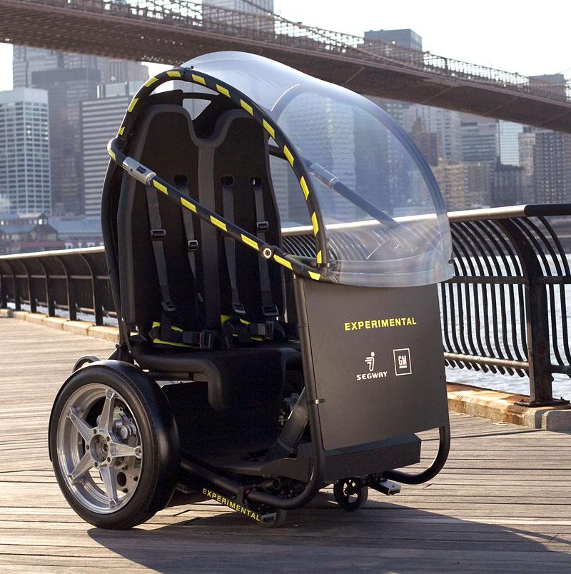 Segway Project P.U.M.A. - vozítko s dvěma koly na jedné ose: - fotka 3