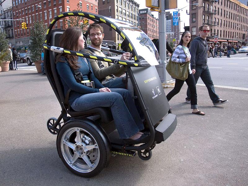 Segway Project P.U.M.A. - vozítko s dvěma koly na jedné ose: - fotka 4