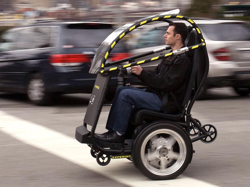 Segway Project P.U.M.A. - vozítko s dvěma koly na jedné ose: - fotka 7
