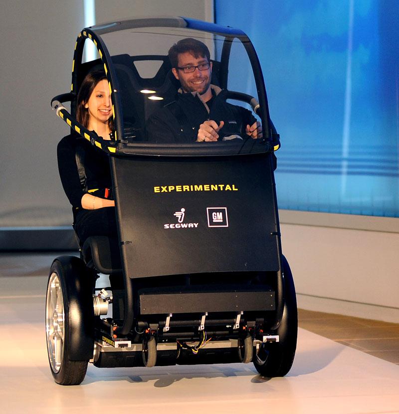 Segway Project P.U.M.A. - vozítko s dvěma koly na jedné ose: - fotka 8