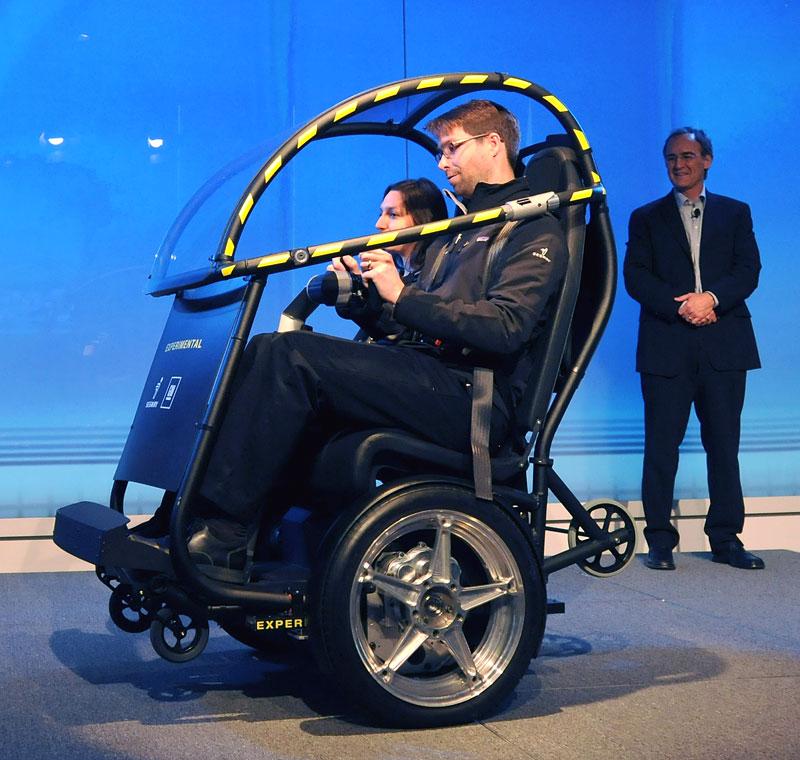 Segway Project P.U.M.A. - vozítko s dvěma koly na jedné ose: - fotka 9