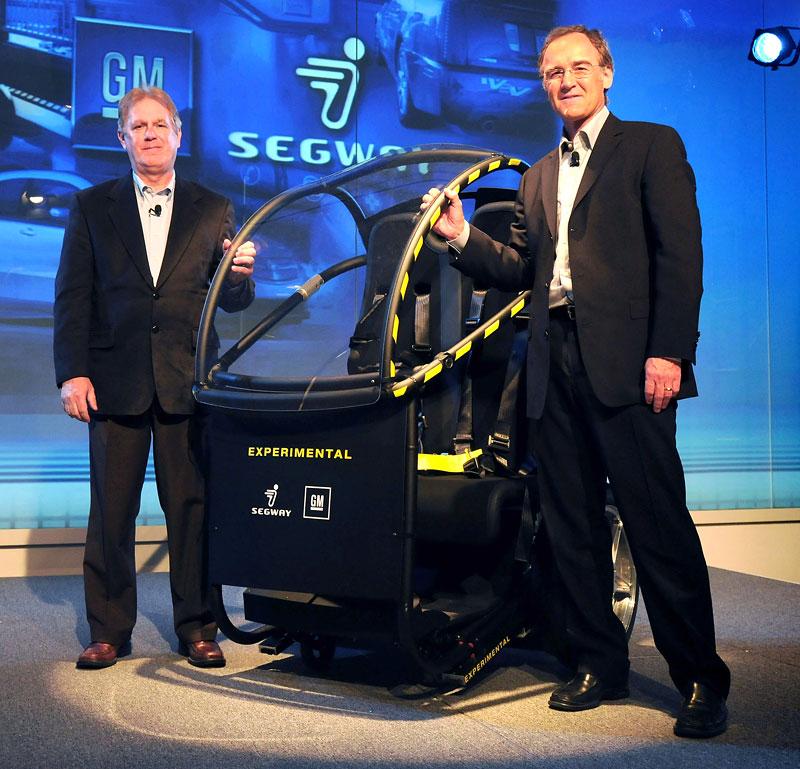 Segway Project P.U.M.A. - vozítko s dvěma koly na jedné ose: - fotka 10
