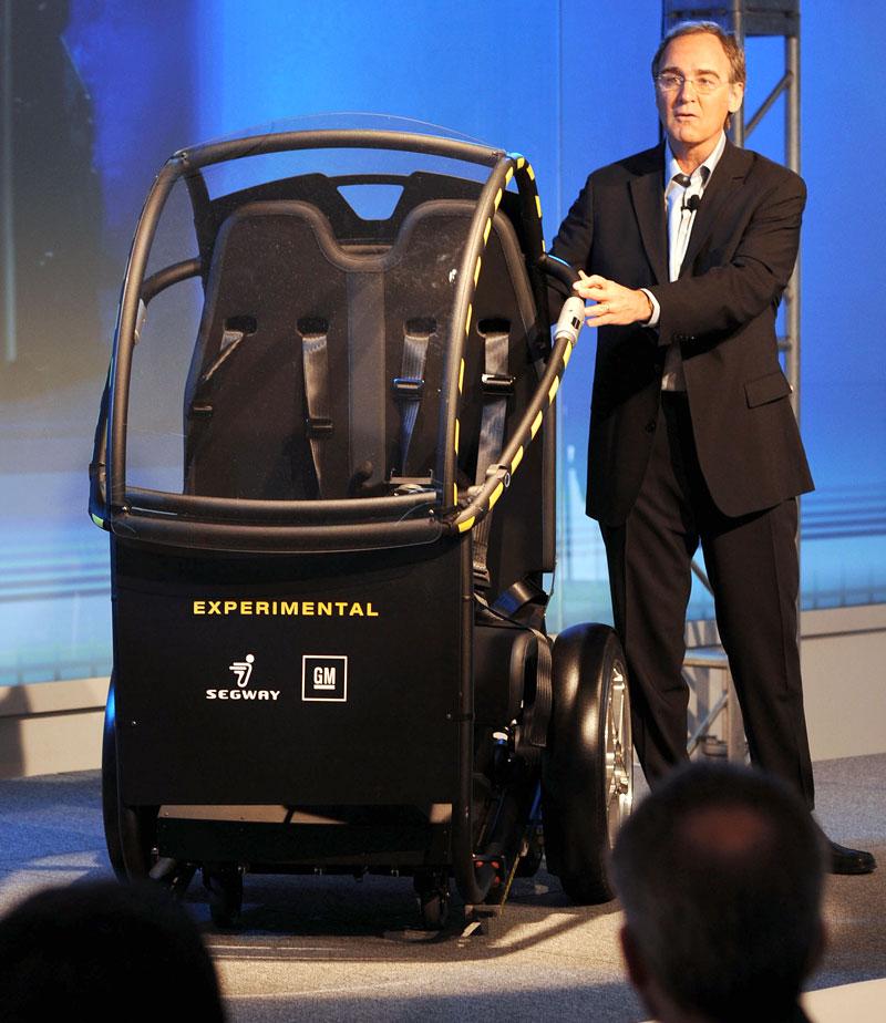Segway Project P.U.M.A. - vozítko s dvěma koly na jedné ose: - fotka 11