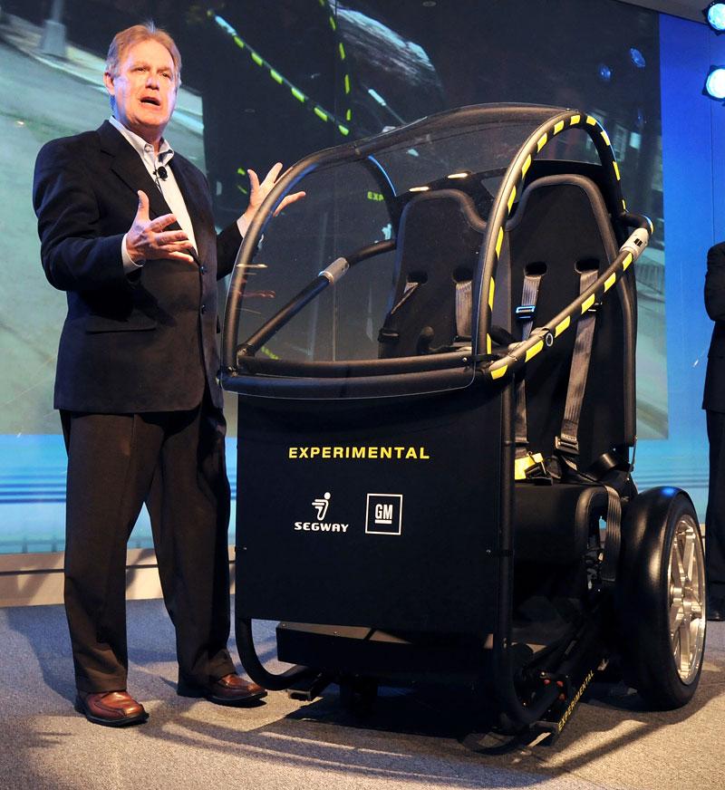 Segway Project P.U.M.A. - vozítko s dvěma koly na jedné ose: - fotka 12