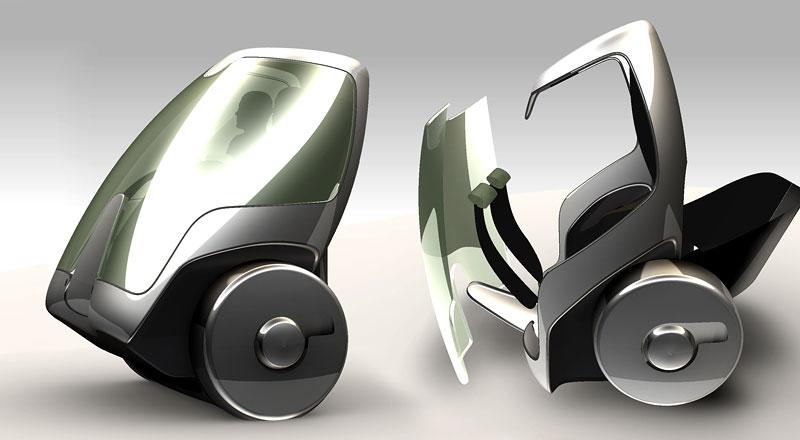 Segway Project P.U.M.A. - vozítko s dvěma koly na jedné ose: - fotka 15