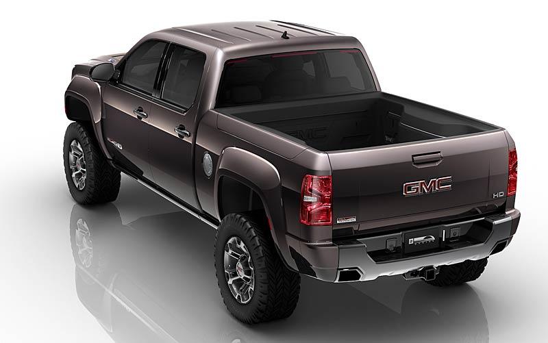 GMC: Sierra All Terrain HD Concept aneb dieselový Herkules: - fotka 3