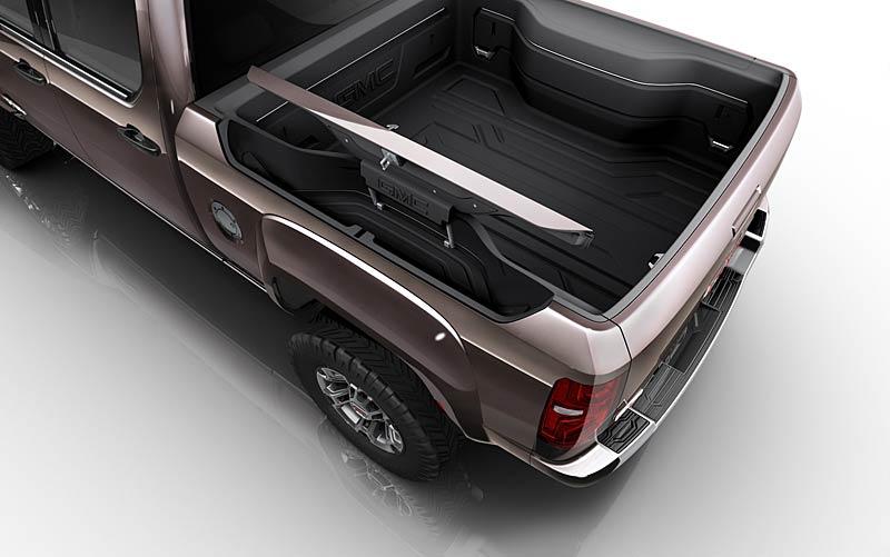 GMC: Sierra All Terrain HD Concept aneb dieselový Herkules: - fotka 5