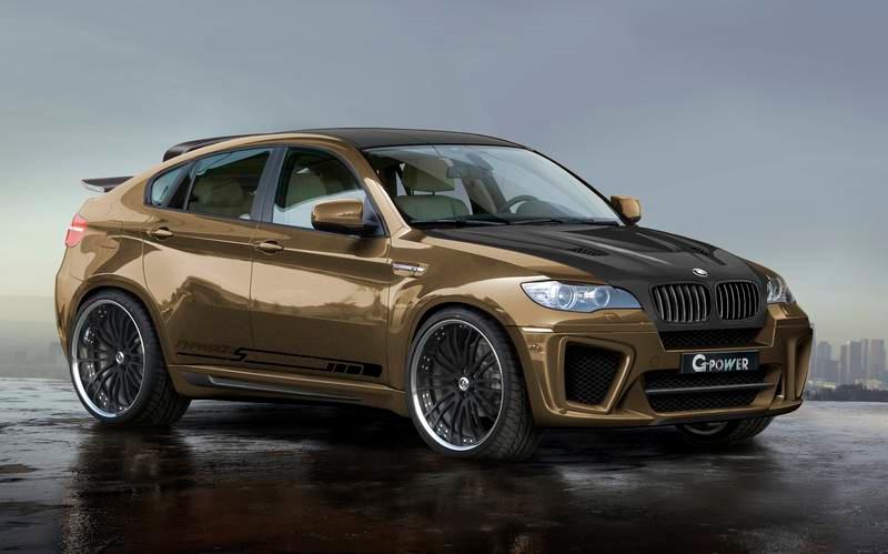 G-Power X5 M a X6 M Typhoon: agresivní a výkonná BMW: - fotka 3